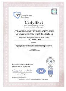 Certyfikat-ISO-TRAWERS-ADR